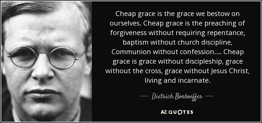 Cheap Grace