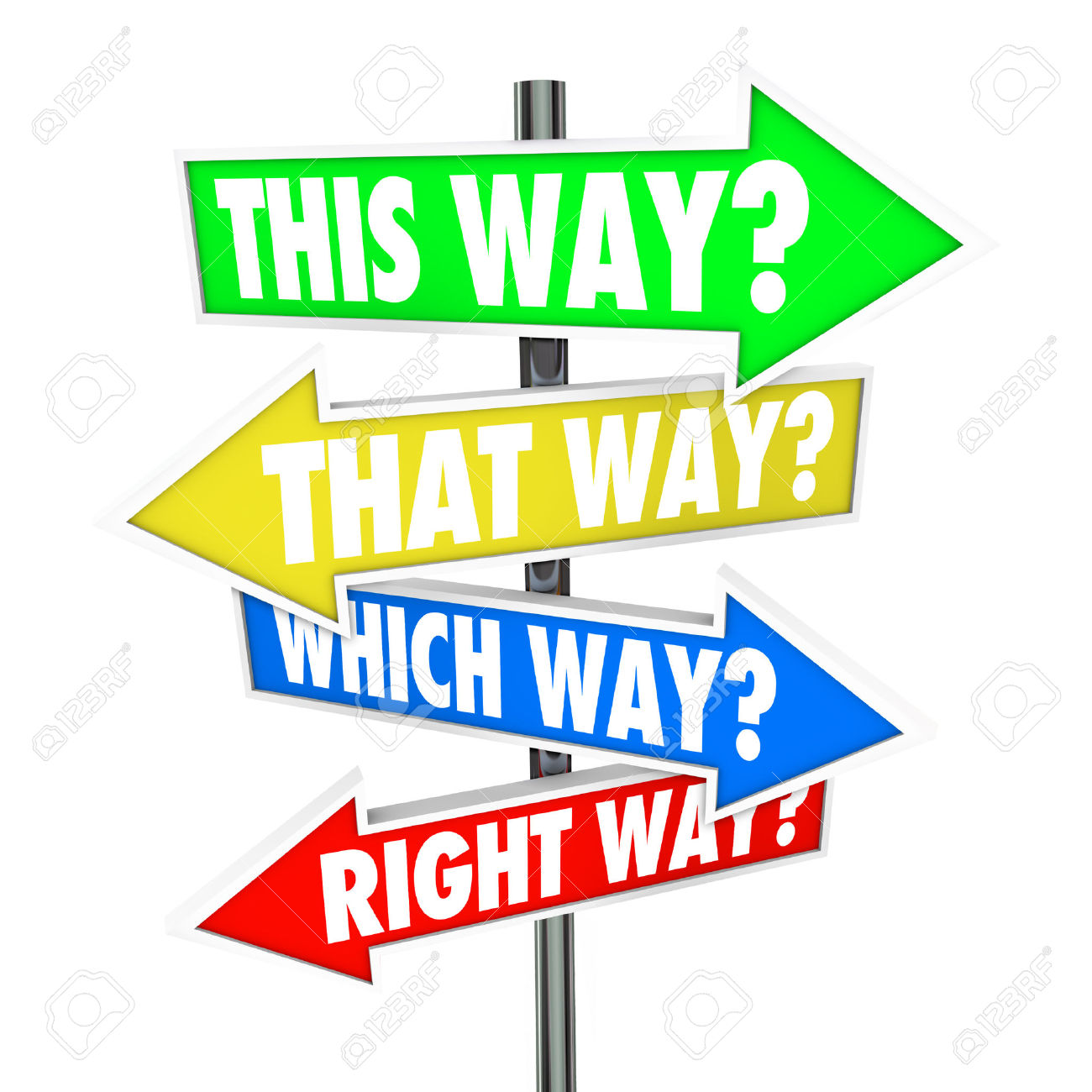 29799253-This-Way-That-Way-Which-Way-Right-Way-words-in-a-question-on-arrow-road-signs-showing-many-choices-f-Stock-Photo